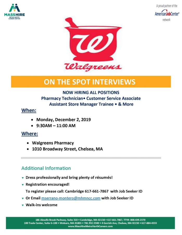 walgreens recruitment